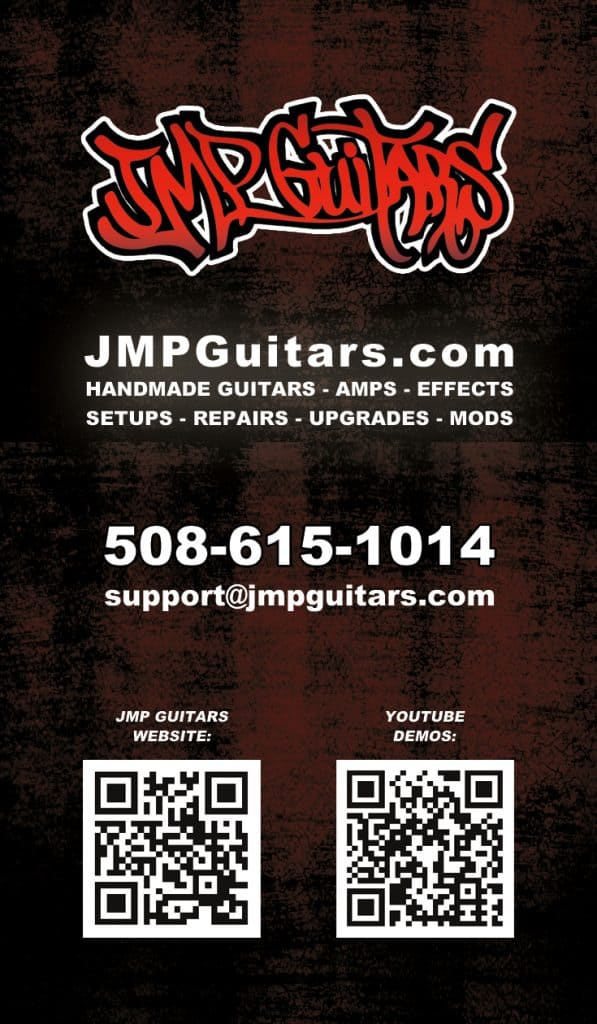 Guitar Maker Business Cards