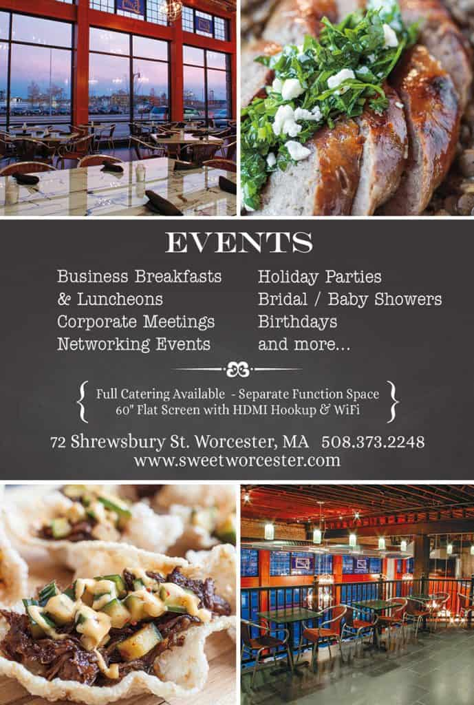 Restaurant Promotional Cards