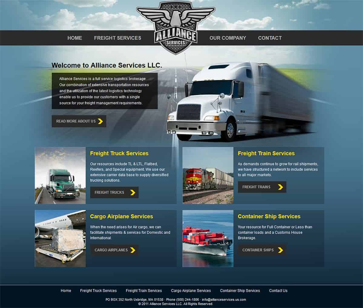 Logistics Website